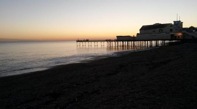 Bognor Regis Pier Sunset